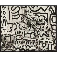 Annie Leibovitz - Keith Haring, New York