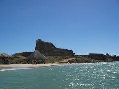 Castillo de Araya, en las costas del Mar Caribe- Venezuela