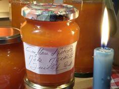 confiture de rhubarbe de la mere mitraille