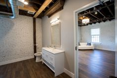 1915 Historic Building in Harrisonville, MO! Bridal Suite, Architectural Features, Brickwork, Corporate Events, Restoration, Space, Bathroom, Architecture, Amor