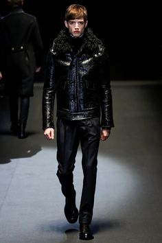 Gucci - Fall 2013 Menswear - Look 24 of 42?url=http://www.style.com/slideshows/fashion-shows/fall-2013-menswear/gucci/collection/24