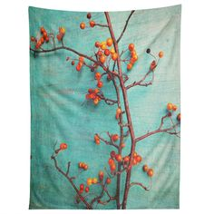 Olivia St Claire She Hung Her Dreams On Branches Tapestry   DENY Designs Home Accessories