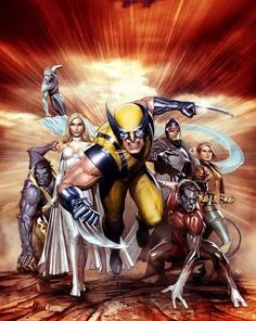 Wolverine & The X-Men: The Complete Series DVD Cover: Boxset art for the Wolverine & The X-Men series. This piece is currently available for sale, please see the Art for Sale section for further details.
