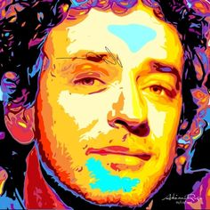 Gustavo Adrián Cerati fue el vocalista, guitarrista y compositor principal de la banda de rock Soda Stereo .  #Arte #Picture #Music #Musica
