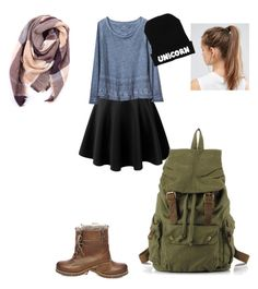 """""""a walk in the park"""" by orange15fun ❤ liked on Polyvore featuring LE3NO, Gap, Steve Madden, Everest and NIKE"""