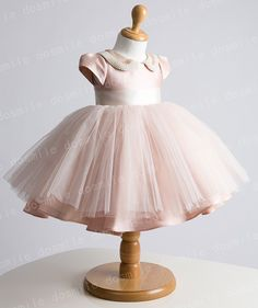the couture baby pink tutu dress - Google Search