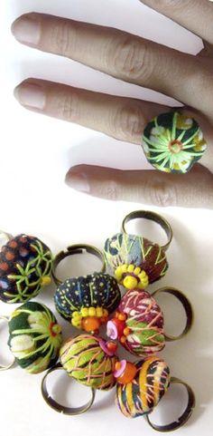 AFRIKADAA: TOUBAB PARIS : ou quand le wax devient bijoux et accessoires