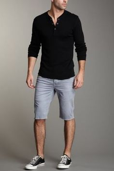 Simple summer night gear. - Click image to find more Men's Fashion Pinterest pins
