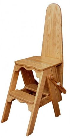 Jefferson Chair | Bachelor Chair | Onit | Folding Ironing Board Chair