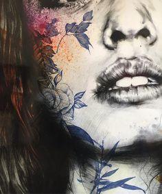 The graphic works of Gabriel Moreno - Artists Inspire Artists Gabriel, L'art Du Portrait, A Level Art, Art Sketchbook, Figurative Art, Love Art, Art Inspo, Amazing Art, Art Drawings