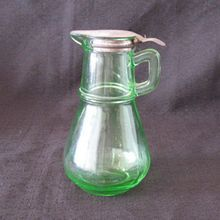 59e0c7e76466 Page Load Problem. Vintage Green GlassVaseline ...