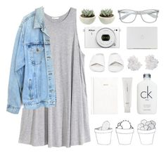 simplistic (179) by bastille-anna on Polyvore featuring polyvore, fashion, style, H&M, Levi's, Jeffrey Campbell, AmorePacific, Calvin Klein and McCoy Design