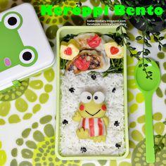 Karenwee's Bento Diary: Bento2014#Dec01~Keroppi cute kawaii food art