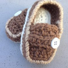 Adorable little man loafers. Baby-sized loafers, complete with strap, tongue, and buttons! Dress your adorable little man is a pair of these