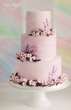 Wedding cake idea; Featured Cake: Sugar Ruffles
