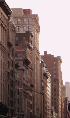 Buildings in the Flatiron District, Manhattan.