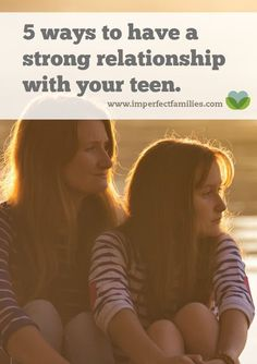 Parenting teenagers can be tricky, simplify by staying focused on the relationship