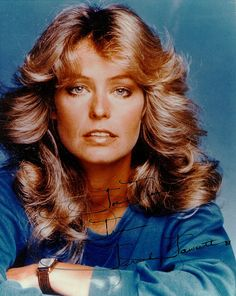 70's Hair from 1976 to 1980....  every girl had a Farrah hair style