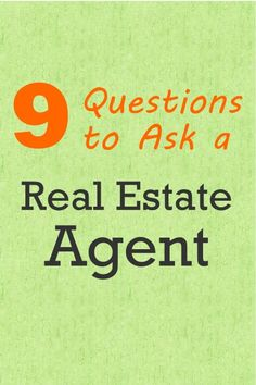 Are you planning on buying or selling your home? If you're going to hire a real estate agent, check out our article on the 9 questions you should ask an agent before hiring them.