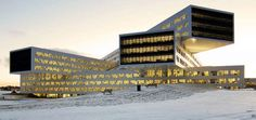 The Statoil Regional and International Offices Displays Futurism #scifi #architecture trendhunter.com