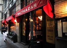 Balthazar in SoHo may seem Parisian, but it's quintessentially New York. PEARL GABEL FOR NEW YORK DAILY NEWS