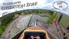 Toverland 2019 Expedition Zork 360° VR Onride Vr, Water, Gripe Water, Aqua