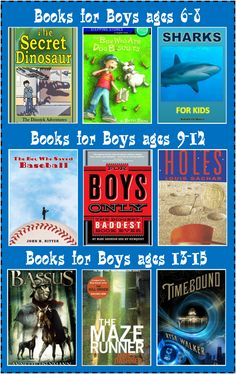 Books for Boys: Make Reading Fun 3 Boys and a Dog