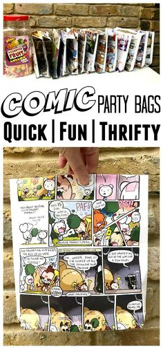 DIY Party Bags from