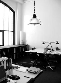 blog-m:    OFFICE SPACE | Studio Interior DesignA basic and clean studio space for any designer.Large tables for designing :CheckOrganized cabinet unit forachievingold work ( labeled if you have OCD ):CheckSpinningChairs for pushing your co-workers down the hall :Check