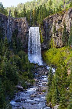 Tumalo Falls, North Fork Trail near Bend, Oregon