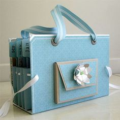 Card Organiser Tutorial Scrapbooking 24/7