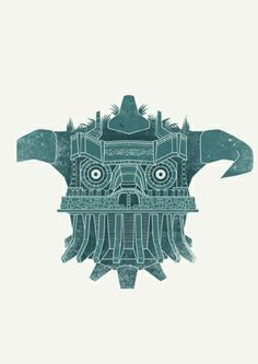 Shadow oh the Colossus. James Gilleard. http://www.jamesgilleard.com