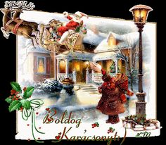 Whimsical Christmas, Merry Christmas To All, Animated Christmas Pictures, Just Magic, Animation, Christmas Villages, Gifs, Wonderful Time, Animated Gif