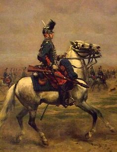 French Hussars Review by Édouard Detaille