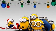 Minions | Minions HD Wallpapers | Cartoon Wallpaper | kids | Mobile Wallpapers | iphone Wallpapers Amor Minions, Cute Minions, Minions Quotes, Funny Minion, Minion Christmas, Christmas Humor, Christmas Time, Xmas, Christmas Lights