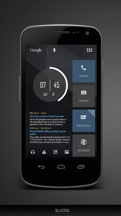 34 Best Android design images in 2015 | Homescreen, Android design