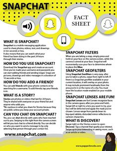Snapchat for Beginners (Information Sheet)  #Snapchat #Snapchat101 #Socialmedia #InformationSheet #freeprintable #freedownload