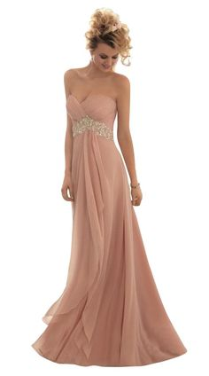 321430281126 JoyVany Sweetheart Chiffon Long Bridesmaid Dress Beaded Party Prom Evening  Dress pink Size 26W * Click on the picture for added information.