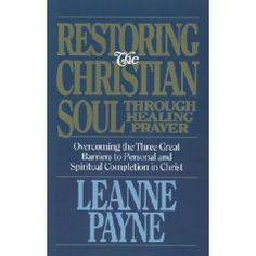 Restoring The Christian Soul by Leanne Payne.  Keep in mind that Leanne Payne is an episcopalian mystic and is into holy water and the use of symbols.  I\'m not into those things, but the principles she uses are timeless and still work without the liturgical elements.