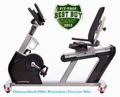 http://www.recumbentbikehub.com/ Diamondback 910sr Recumbent Exercise Bike review