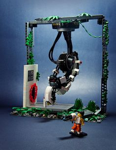 Portal 2 Lego set. The only reason I would ever buy legos.