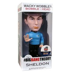 Star Trek Big Bang Theory Sheldon Bobble Head @ niftywarehouse.com #NiftyWarehouse #BigBangTheory #TV #Show #BigBangTheoryShow #BigBangTheoryTVShow #Comedy