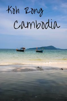 Beautiful photos capturing the pristine islands of Koh Rong and Rabbit Island in Cambodia. A must see if you are traveling in Southeast Asia!