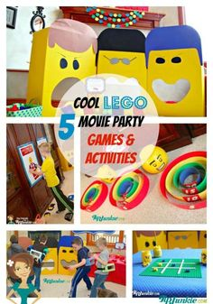 5 Cool Lego Movie Party Games & Activities | eBay