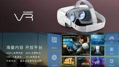 Sabías que Huawei presenta gafas de Realidad Virtual, solo compatibles con sus móviles