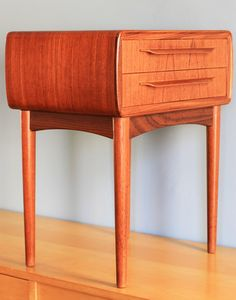 Reserved For Sam ---- Danish Modern Nightstand - Bedside Table - Johannes…