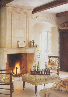 House in Roussillon, Provence via Veranda Magazine