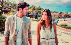 Perfection Girl Couple, Cute Love Couple, Best Couple, Romantic Couples, Cute Couples, Murat And Hayat Pics, Cute Love Stories, Romantic Pictures, Turkish Beauty