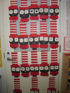 Classroom display Dr. #Seuss Cat in the hat