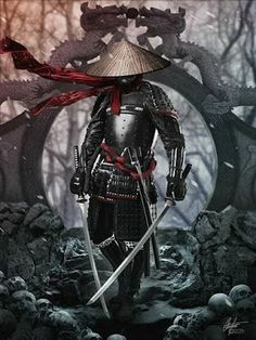 A ronin was a samurai with no lord or master during the feudal period of Japan. A samurai became master-. Ronin Black black and white sketch samurai ninja Ronin Samurai, Samurai Anime, Fantasy Samurai, Samurai Concept, Samurai Warrior Tattoo, Warrior Tattoos, Arte Ninja, Ninja Art, Japanese Artwork